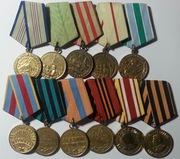 Медали ВОВ, медали за отвагу и т.д